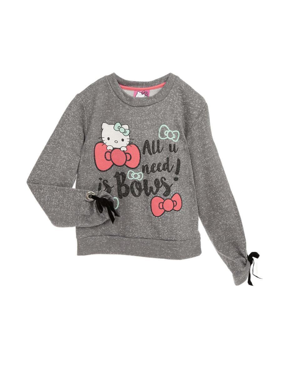 garantía de alta calidad estilo de moda gama completa de especificaciones Sudadera Hello Kitty para niña