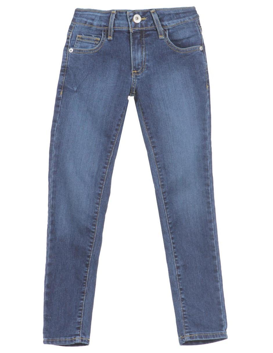 Jeans Ajustado Guess Denim Corte Skinny Para Nina En Liverpool