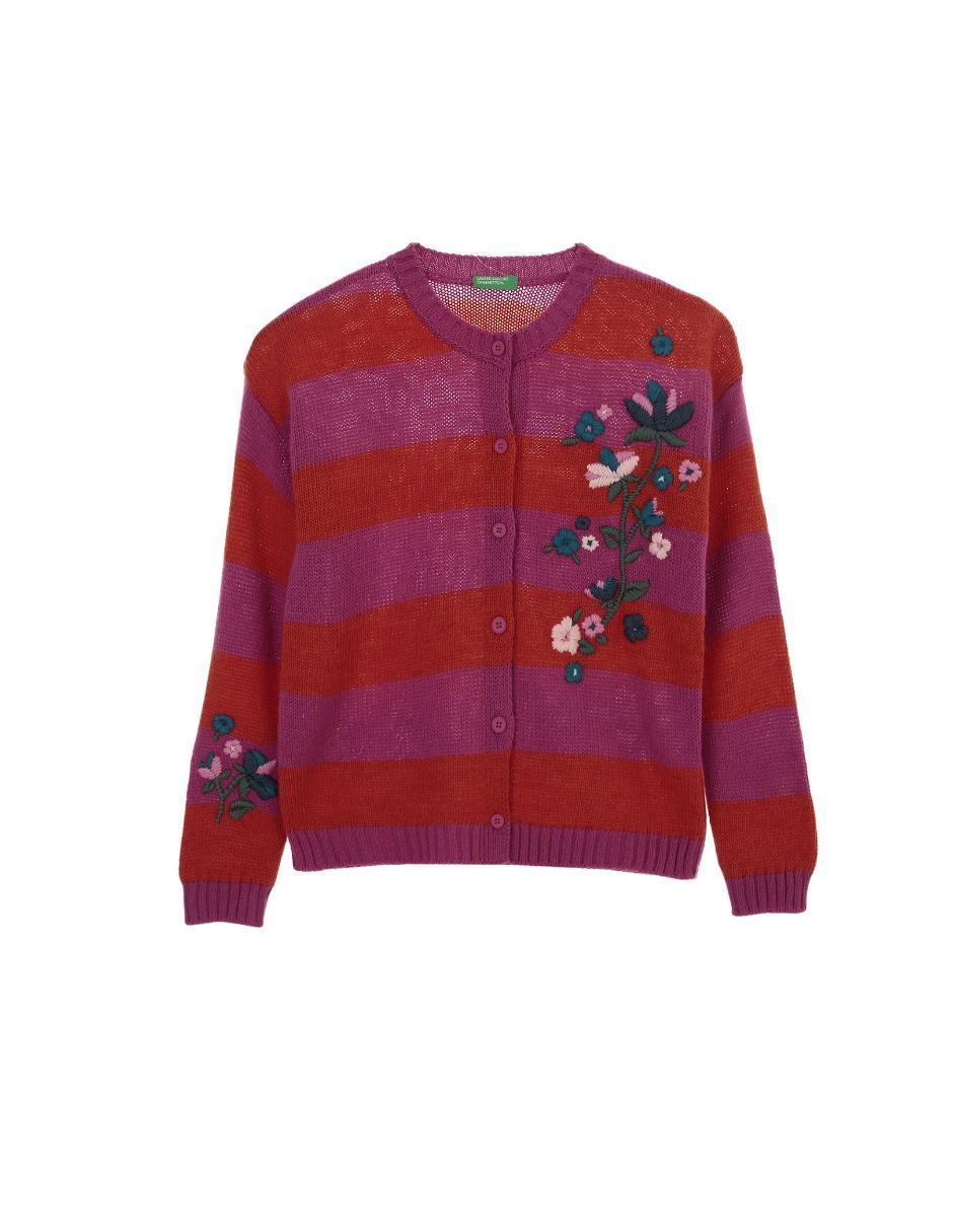 seleccione para genuino obtener nueva calidad autentica Suéter a rayas Benetton para niña