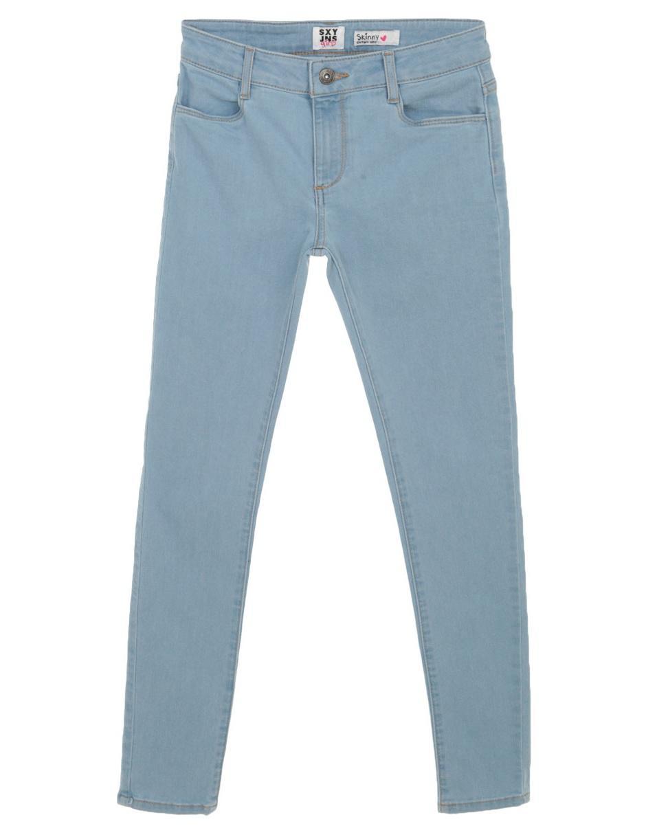 Pantalon Sexy Jeans Corte Skinny Azul Claro Para Nina En Liverpool